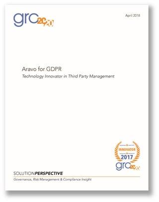 GRC 2020_Aravo for GDPR