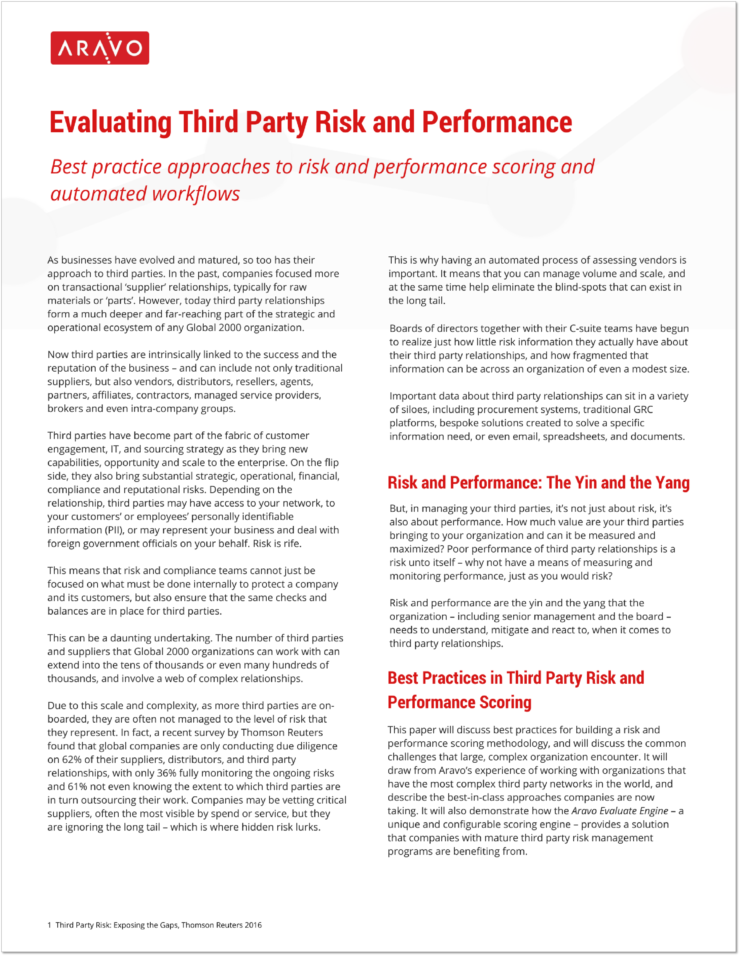 Aravo - Evaluating Third Party Risk and Performance - White Paper.png