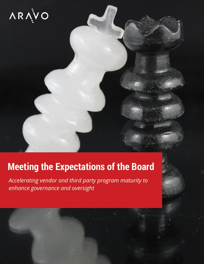 Aravo eBook_Third Party Risk Management - Meeting the Expectations of the Board.jpg